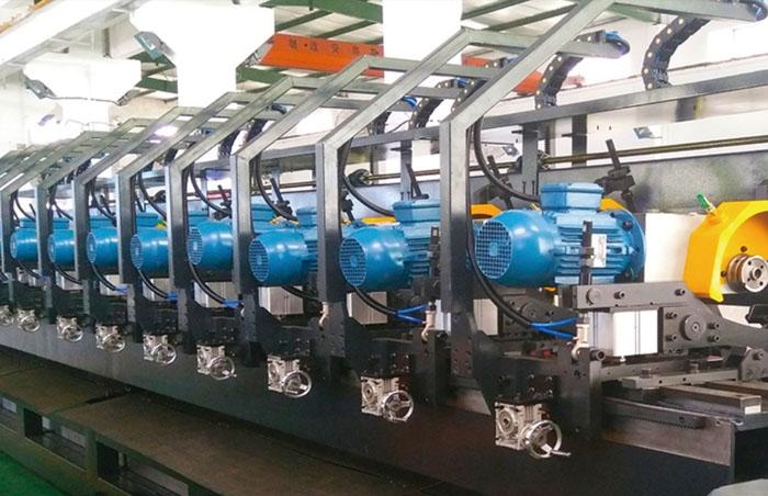 金凯达 X5 系列集成金属管料锯切系统