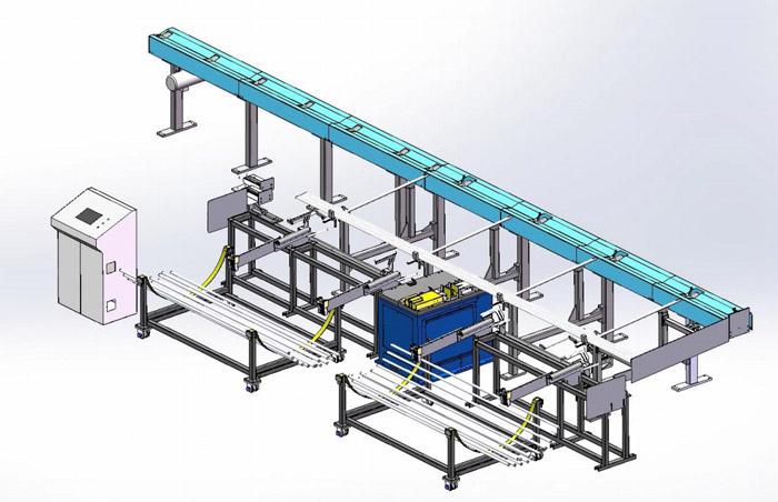 金凯达 X3 系列串联式多头金属管料锯切设备