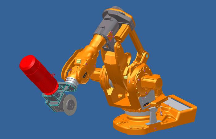 金凯达机器人锯切应用设备