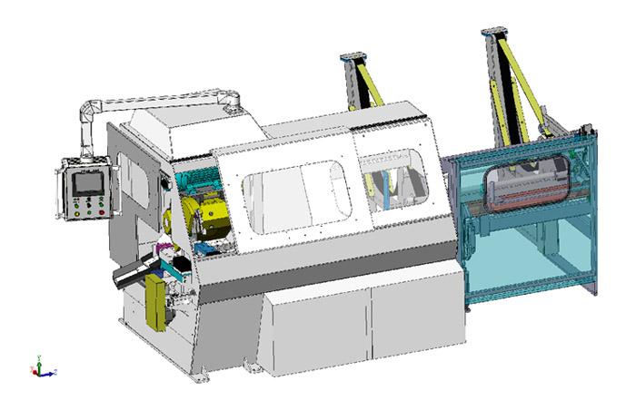 金凯达 X9 高速多根切管设备